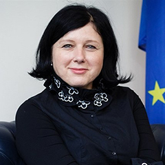 Vera Jourova, Vice-President, Values and Transparency, European Commission
